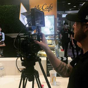 Video Content Shoot at McDonald's
